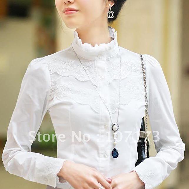 Women'S Cotton Long Sleeve Blouse 53