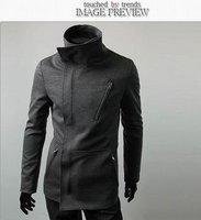 Wholesale&Retail 2012 Autumn New Style Men's Fashion Zipper Sweatshirts, Waterproof, Anti UV,Thin Sport Jacket Free Ship JK711