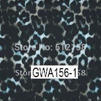 Hydrographic Animal Pattern films water transfer printing film Leopard pattern GWA156-1 WIDTH 100CM