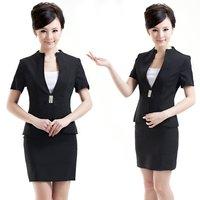 Женский костюм с юбкой shippping! 2013 summer fashion OLslim elegant career female bust skirt, suits for women