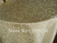 Round table cloth free shipping Hotel Restaurant tablecloths wallpaper diameter 220cm purple yellow beige desk cloth