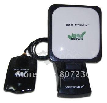 FREE SHIPPING-- wifi adapter adaptador Gratis Internet Antena Wifi Usb Internet Wifisky Realteck 8187l 5800mw 60dbi