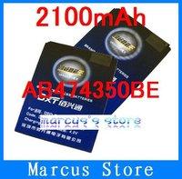 2100mAh AB474350BE Battery Use for Samsung 6230c/B5722/B7702/B7722/B7732U/C3610c/D780/D788/i5500/i5503/i5508/i550w/i558/i688