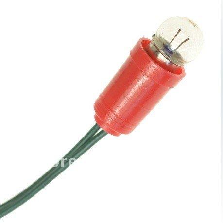 Electric Bead Base Bulb Flashlight Bulb 2 5v Small Bulb Model Light Miniature Lamp Free