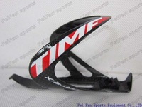 high quality TIME RXRS ulteam full carbon bottle cage,red bike botttle cages two colors 2pcs/lot