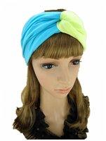 C--free shipping, wholesale/Retail  ladies fashion hair headband, 100% cotton fabric headband
