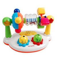Music showiest of flash bead baby color shape baby educational toys 0 - 2