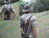 2.5L digital woodland hydration backpack water bag with bladder (2.5L-WD)