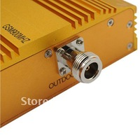 Cheap or Fedex free shippingGSM 950mw Mobile Phone Signal Amplifier RF Repeater - Yellow