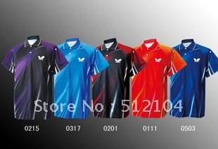free shipping ! New New Butterfly Mens Badminton / Tennis BWH238 Polo Shirt