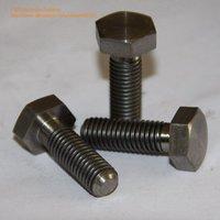100pcs/lot DIN933 M6*20 Titanium hex bolt full thread DHL/UPS FREE SHIPPING