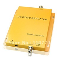 Cheap or Fedex free shipping GSM 900MHZ/DSC 1800 MHZ Mobile Phone Signal Amplifier Repeater Booste