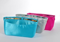 Fashion women handbag Large size handbag organizer purse insert cosmetic bag sample