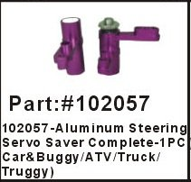 HSP 102057 Aluminum steering servo saver complete car bugy ATV Truck Truggy upgrades 1/10th Gasoline Powered Vehicles