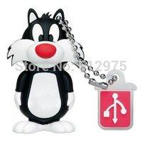USB 2.0 Flash Drive Sylvester The Cat 2GB/4GB/8GB/16GB Genuine Capacity