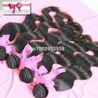 remy natural hair body wave extension 3pcs/lot India100% huaman virgin hair weaving