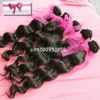 4pcs/lot Brazilian 100% huaman virgin remy natural hair extension hair weaving