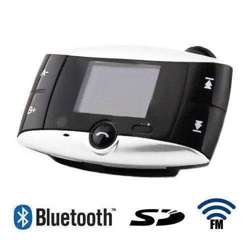 S5H Bluetooth Car Kit MP3 Player FM Transmitter SD MMC USB Handfree Phone Remote(China (Mainland))
