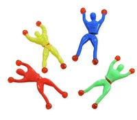 10 pcs/pack Magic Wall Climbing Spiderman Toy For Kids (SH-34)