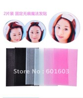wholesale 2pcs/pair 20pairs/lot 3 colors Hair Accessories on Washing face easy velcro for hair Free shipping
