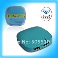 Free shipping of new item for ipad/iphone/ipod/psp multi-function bank power 4000mah in lightblue 6170011B23LB