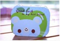 New Fashion Rose Contact Lenses Case Girl Contact Lens Box Gift 2PCS/LOT Drop Shipping