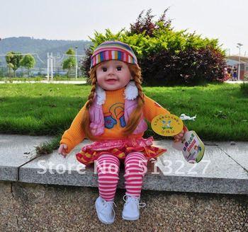 Intelligent doll doll female will talk singing children story development toys children toys