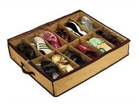 Foldable shoes Storage Boxes bags for Shoes with Transparent Cover UH133 Uhugs 70*59*14cm