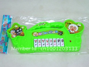 Keyboard Cartoon Toys with music and rhymes(China (Mainland))