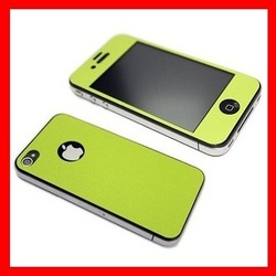 Full body Screen,Colorful Screen Protector For iphone4G 4S,Color Screen Guard For iphone4 4s 50pcs/lot Free shipping(China (Mainland))