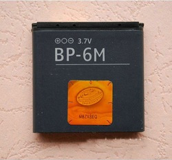 Free shipping BP-6M Battery For Nokia 3250 XpressMusic 6151 6233 6234 6280 6288 9300 9300i N73 N73 Music Edition N77(China (Mainland))