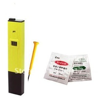 Promotion Sale!!!  Free Shipping Brand New 1Pcs Digital water test pH Meter Tester 0-14 Pen Aquarium+Wholesale and Ratail