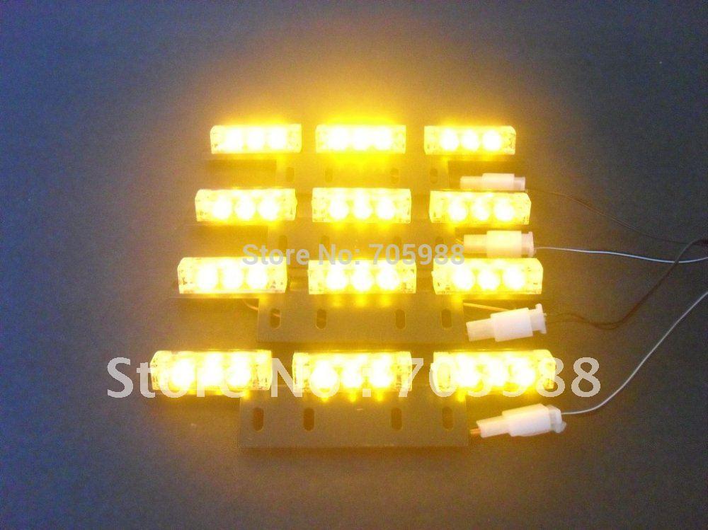 Yellow led strobe lights