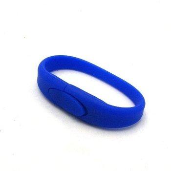 4GB/8GB/16GB Blue Capacity Wrist Band Bracelet USB 2.0 Flash Drives