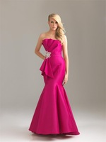 hot selling Elegant mermaid evening dress 2012, prom long dress, evening gown, party dress