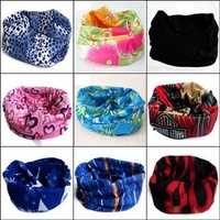Versatile Snood Multi Use Scarf Neck Warmer Bandanas Head Over HairBands