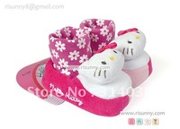 Hello kitty  baby soft bottom, anti-skid toddlers shoes00710