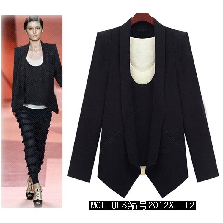 Blazer Shoulder Size Top Plus Size Blazer Women