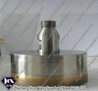 thread shank glass cutting diamond drill bit  , good performance, can drill 2000-5000 holes    diameter 100mm