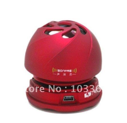 Resonance speaker, speaker, pocket speaker, mini portable, mobile phones, MP3, tablet PCs, small bass bubble sound+FREESHIPPING(China (Mainland))