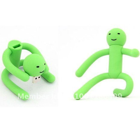 Free Shipping New Arrival USB 2.0 Change Robot USB Memory free packing1GB~32GB USB flash drive(China (Mainland))
