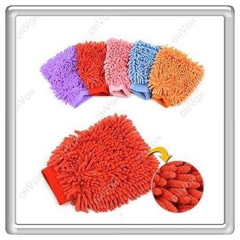 Magic Mitt Microfiber Car Wash Washing Dust Cleaning Glove Home Kitchen Mat
