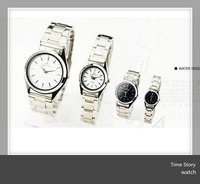 Casual High Quality Unisex Stainless steel Watch 50pcs/lot Wholesale cheap price,Free Shipping via DHL/EMS/UPS