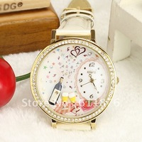 Free Shipping High Quality Japan hand-made watch Mini Polymer clay Watch --Profusion party mn1045