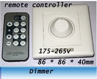led light Infrared remote control SCR dimmers / 86 Panel dimming switch 220V
