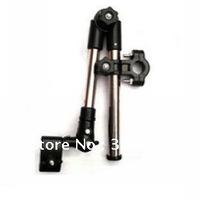 Free shipping 20pcs/lot Universal Folding Bicycle Bike Handle Bar Umbrella Frame Bracket Holder Mount Stands Wholesale