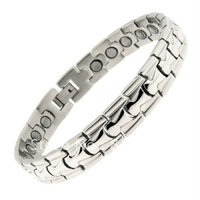 hot selling !Magnetic Bracelets Silver Free Resizing&china supplier