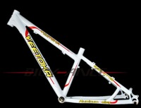 """VEETOKA 2012 sport series aluminum mtb bicycle high quality frame white/yellow/red 13.5""""/inch 15inch"""