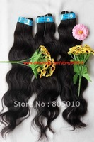 "brazilian VIRGIN remy human hair extensions machine weft body wave 3pcs/lot  free shipping 12""-28' color natural"