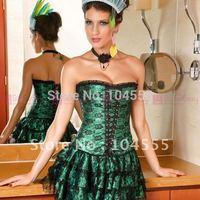 Корсет New Board Room Babe Pinstripe Corset Smart Dress drop shipping